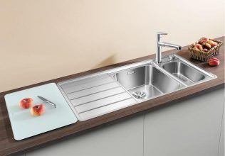 BLANCO AXIS III 6S-IF INOX Saten polirano