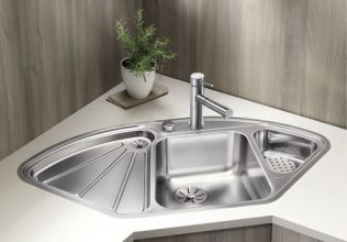 BLANCO DELTA-IF INOX Saten polirano