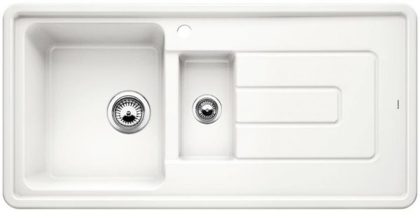 Outlet – BLANCO TOLON 6 S ceramic, bela